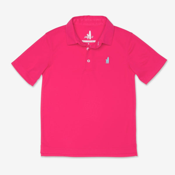 FAIRWAY 3-BUTTON POLO - PARADISE