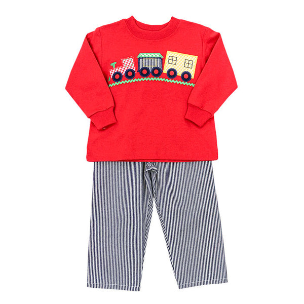 TRAIN BOYS PANT SET