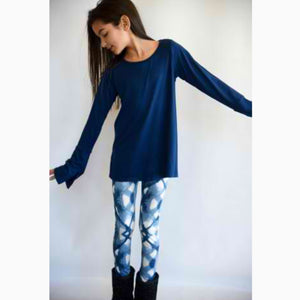 AUTUMN TEAL TUNIC AND PIPER LEGGING