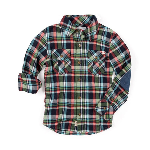 FLANNEL SHIRT - VINEYARD PARK PLAID