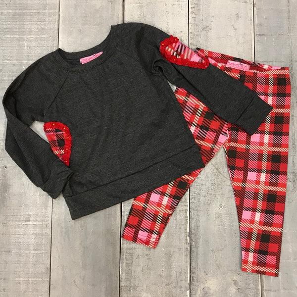 HEART SWEATSHIRT AND LEGGING