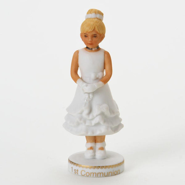 Growing up Girls-Blonde First Communion