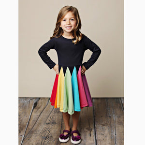 DOUBLE RAINBOW DRESS