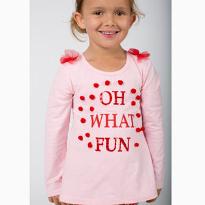 LS OH WHAT FUN TEE AND LEGGING