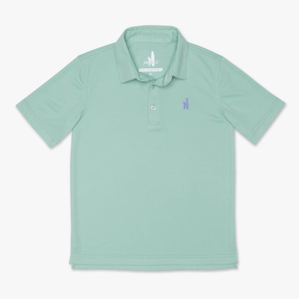 FAIRWAY 3-BUTTON POLO - ELM