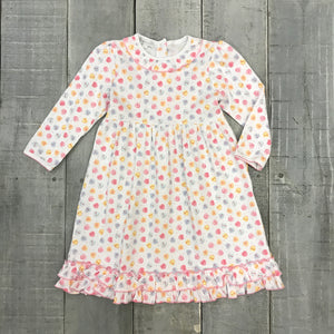 BE MINE PRINTED TODDLER DRESS