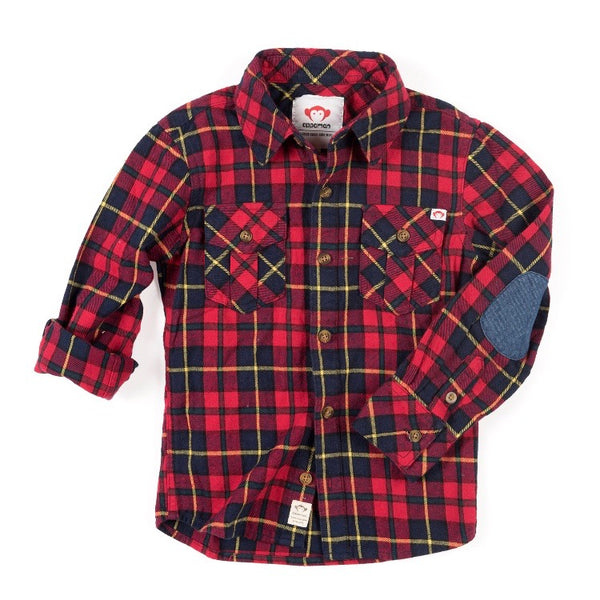 FLANNEL SHIRT - RIO RED PLAID