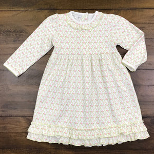 PRINTED TODDLER DRESS - BELLE'S CLASSICS