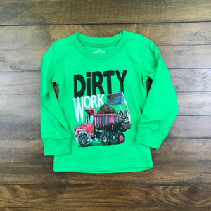 LS DIRTY WORK TEE
