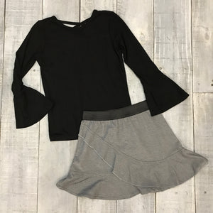ADELINE TOP AND ALYSSA SKIRT