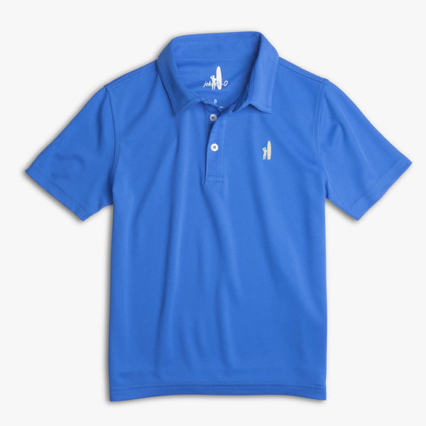 FAIRWAY 3-BUTTON POLO - MARLIN