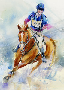 Horse Eventing Print