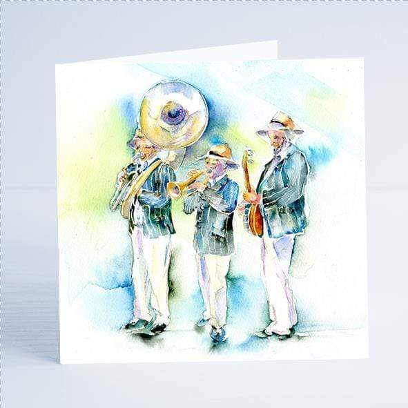 Musical Band Card