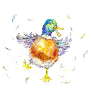 Duck Card-Sheila Gill Fine Art