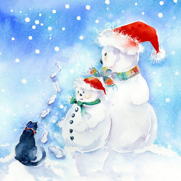 Snowman Christmas Card Pack