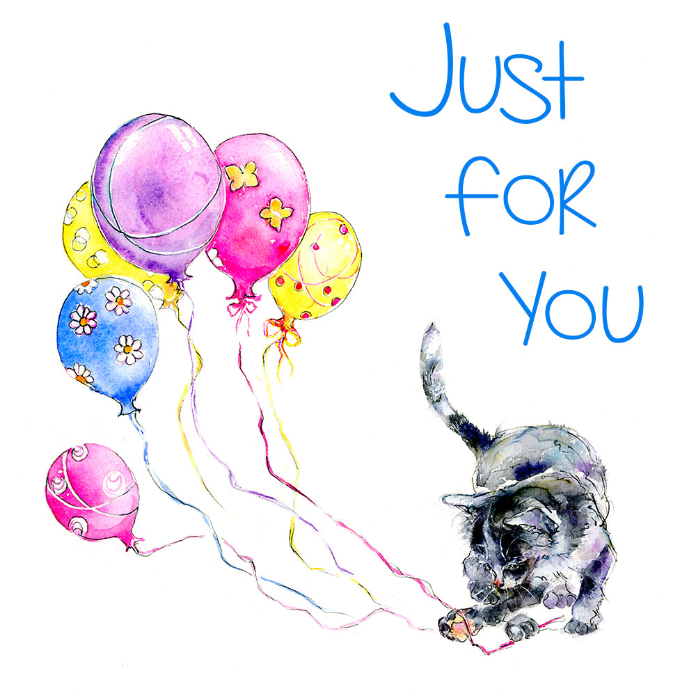 Just for You. Say it with Balloons