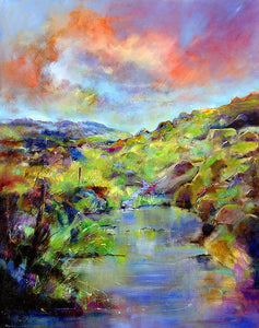 Landscape Peak District Print