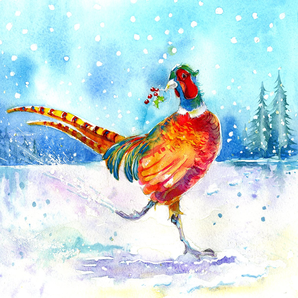 Pheasant Christmas Card Pack