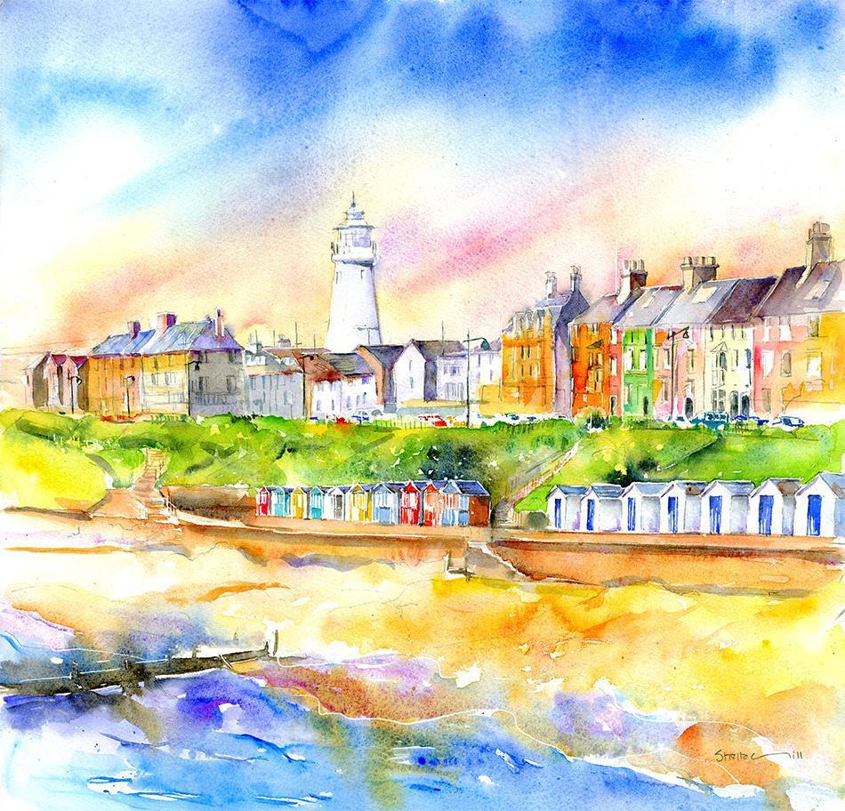 Southwold Suffolk Card-Sheila Gill Fine Art