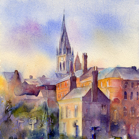 The Crooked Spire St Marys Chesterfield Card