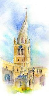 The Crooked Spire Chesterfield Card