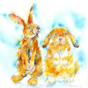 Rabbit Card-Sheila Gill Fine Art