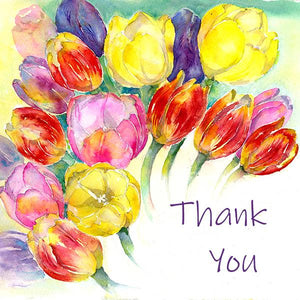 Thank You Notelet Card Pack