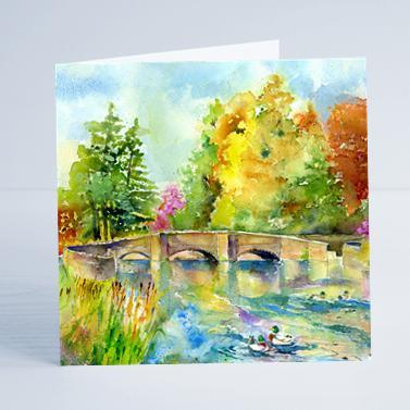 Ashford in the Water Card-Sheila Gill Fine Art