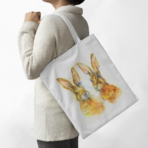 Hares - Tote Bag