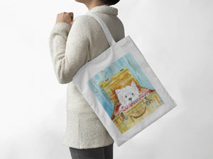 Dog - Highland Terrier - Tote Bag