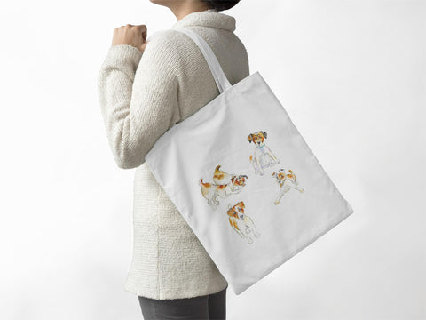 Dog -  Jack Russell - Tote Bag