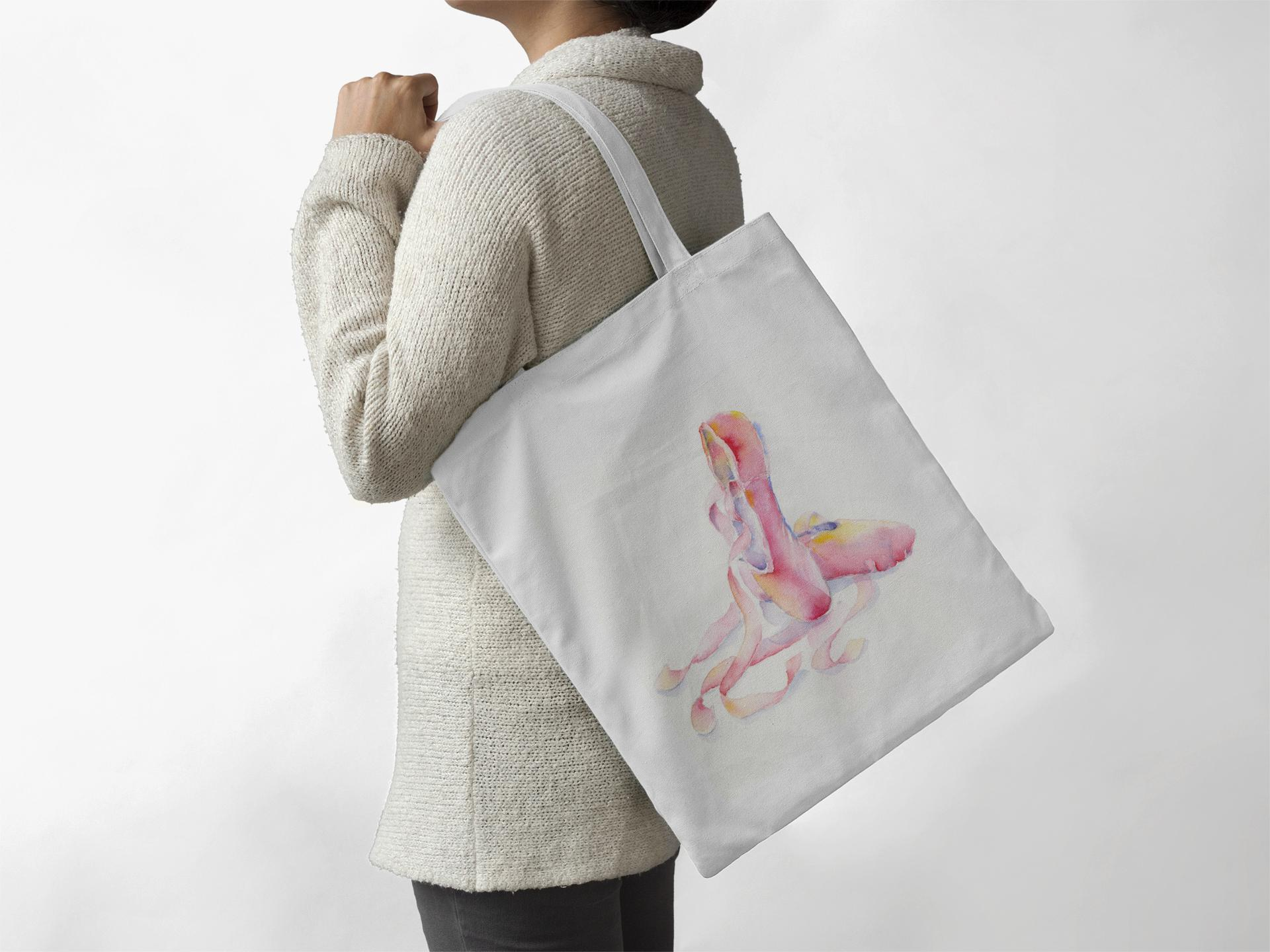Ballet Slippers - Tote Bag