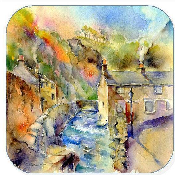 Castleton, Derbyshire - Coaster