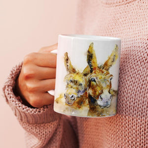 Donkeys - China Mug