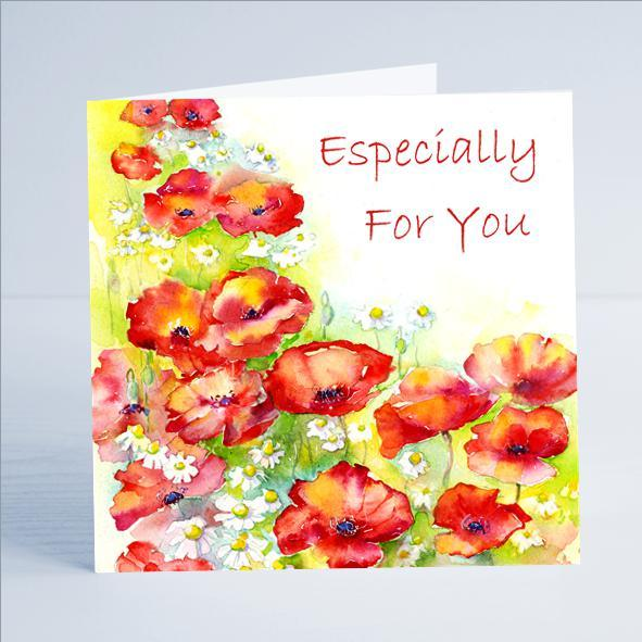 Especially for You - Card-Sheila Gill Fine Art