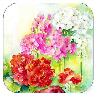 Geraniums, Flower - Coaster