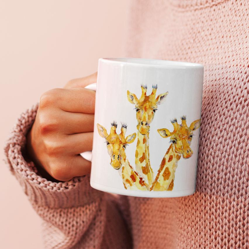 Giraffe - China Mug