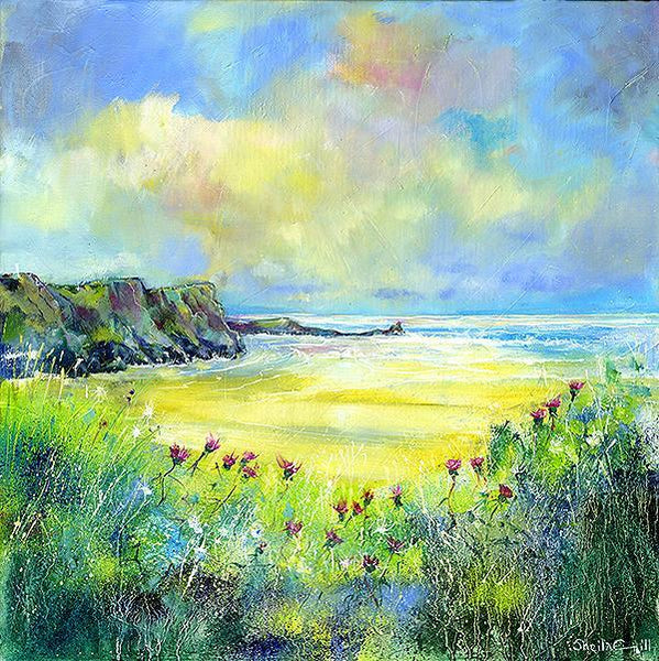 Gower Peninsula - Card-Sheila Gill Fine Art