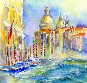 Grand Canal Venice Print