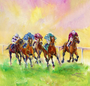 Winning Colours Horse Racing Print