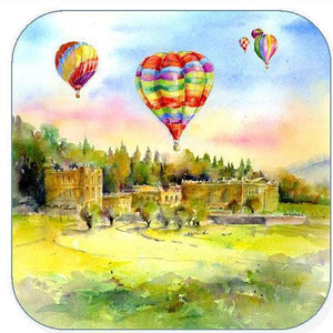 Hot Air Balloons, Chatsworth - Coaster