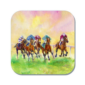 Horse Racing Coaster (Corked Back)