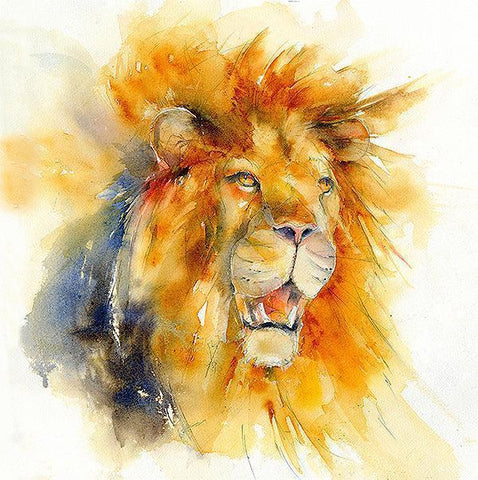 Lion Card-Sheila Gill Fine Art