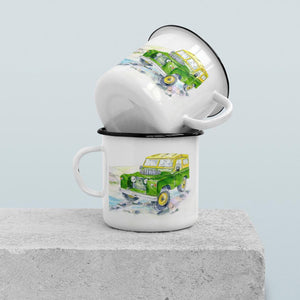 Off Road Vehicle - Enamel Mug