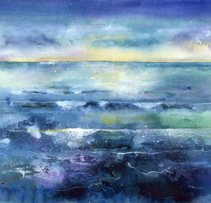 Morning Tide Seascape Print