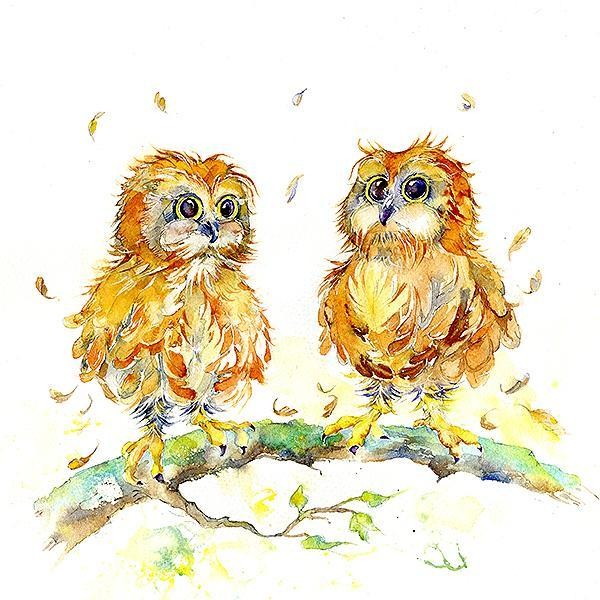 Owl  Print You're a Hoot Print