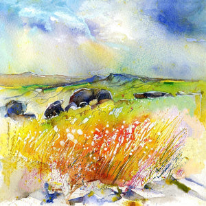 Peak View - Card-Sheila Gill Fine Art