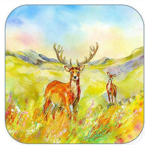 Stag - Coaster