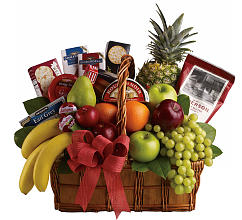 Fruitful Greeting Gourmet Basket
