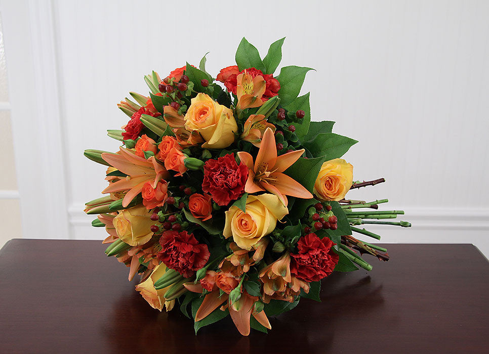 Sunset Hand Tied Bouquet